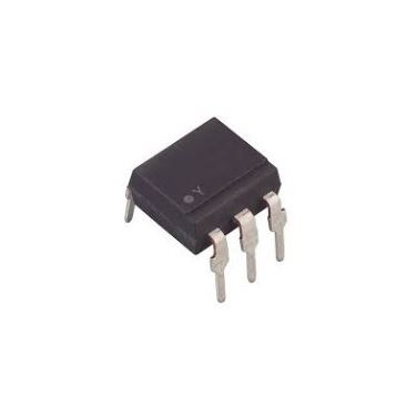 4N25 Optoisolator w/base 6-DIP