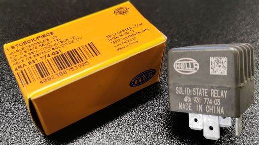 Solid State-rele Hella 18/22A