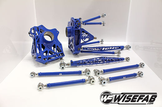 Wisefab Rear Knuckle Kit for Mazda RX-8