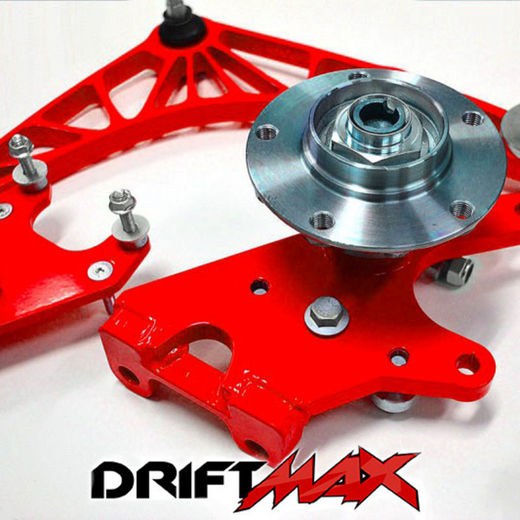 DriftMax Knuckle + Hub for BMW E46 (right, sold individually)